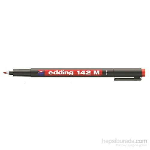 edding Çok Amaçlı Asetat Kalemi Kırmızı