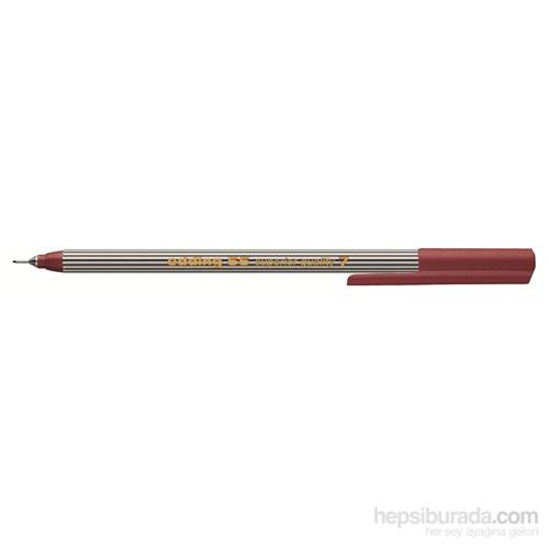 edding İnce Uçlu Yazı Kalemi Kahverengi