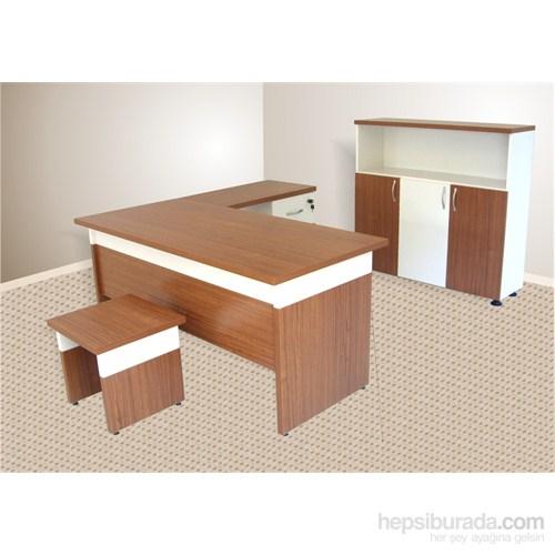 Vena Sıla Masa Takımı Tik-Beyaz