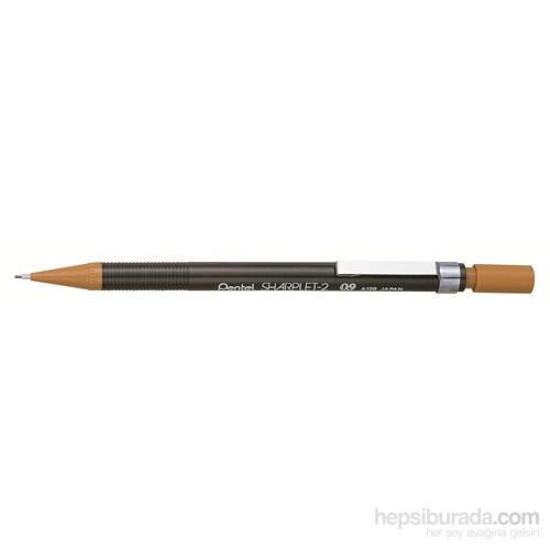 Pentel A129-E Plastik Siyah Gövdeli 0.9 mm Versatil Sharplet