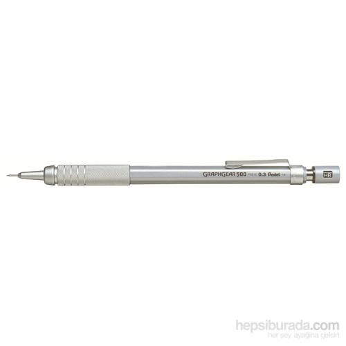 Pentel PG513 Teknik Çizim ve Yazı İçin 0.3 mm Graph Gear 500 Versatil