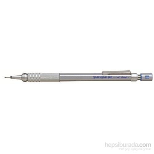 Pentel PG517 Teknik Çizim ve Yazı İçin 0.7 mm Graph Gear 500 Versatil