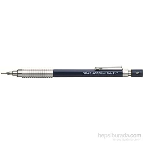 Pentel PG607-C Teknik Çizim ve Yazı İçin 0.7 mm Mavi GraphGear 600 Versatil