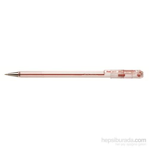 Pentel BK77-B Metal Uçlu 0.7 mm Kırmızı Roller Kalem