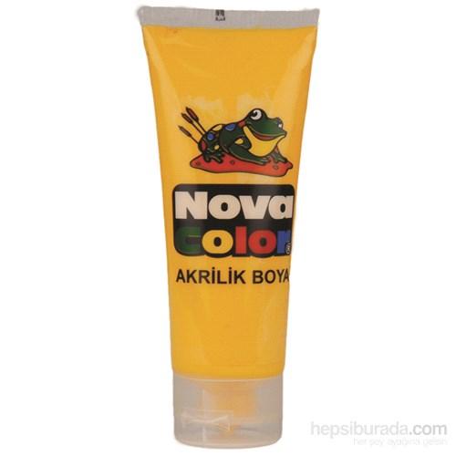 Nova Color Nc-255 Akrilik Boya Plastik Tüpte 75 gr Sarı