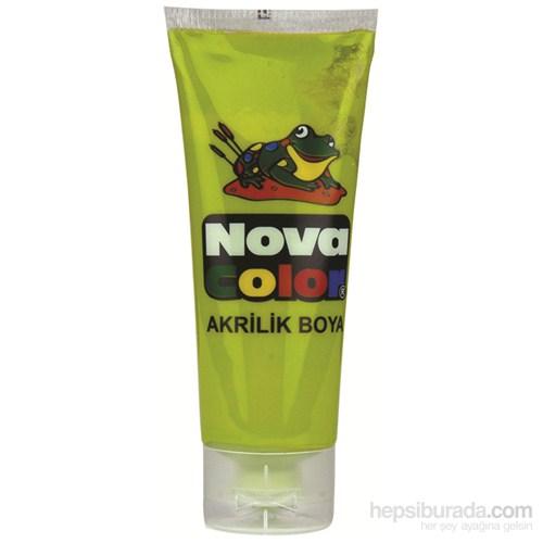 Nova Color Nc-266 Akrilik Boya Plastik Tüpte 75 gr Açık Yeşil