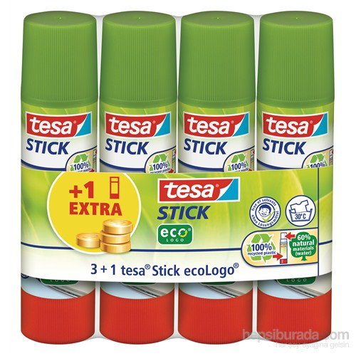 Tesa Stick EcoLogo 4'lü Paket 4 x 20gr