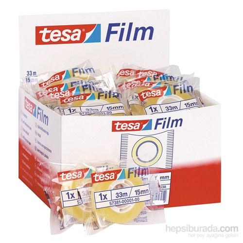 Tesa Film Standart Şeffaf 33m 15mm