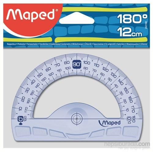 Maped 242180 12 cm Geometrik Açı Ölçer 180°