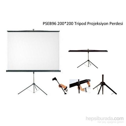 Everest Pseb96 200X200 Tripod Projeksiyon Perdesi