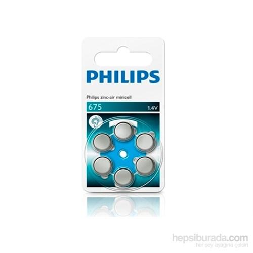 Phılıps Za675b6a/10 İşitme Cihazı Pili 675,1.4 V,Çinko,6'lı Blister