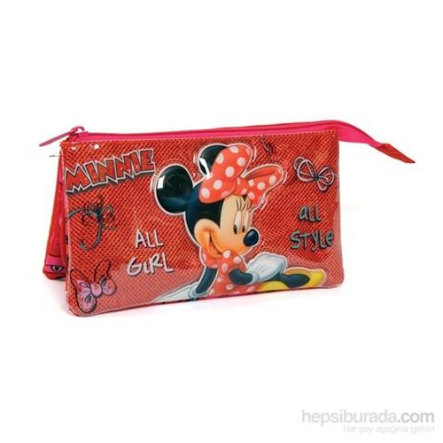Minnie Mouse Kalem Çantası (Yaygan 72135)
