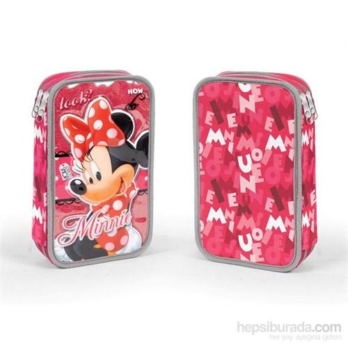 Minnie Mouse Pembe Kalem Çantası