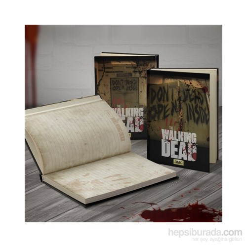 The Walking Dead: Don't Open Dead Inside Notebook Defter