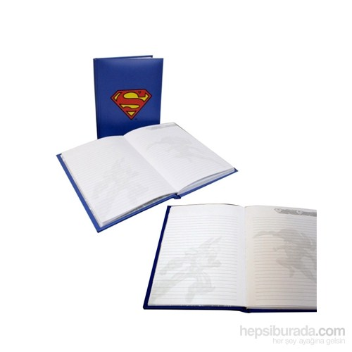 Superman Notebook With Light Işıklı Defter
