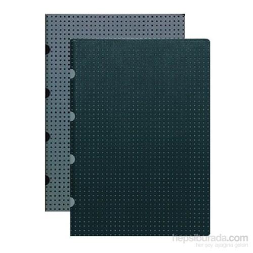 Paper-Oh 9242-1 A5 İkili Çizgili B/G-G/B Defter