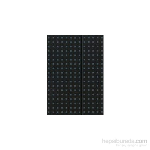 Paper-Oh 9052-6 Quadro B5 Çizgili Black On Grey Defter