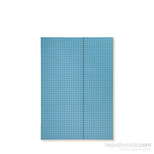 Paper-Oh 9018-2 Circulo A5 Çizgili Blue On Grey Defter