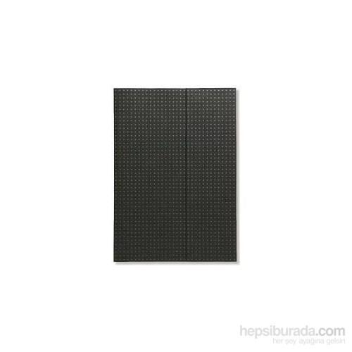 Paper-Oh 9010-6 Circulo A5 Çizgili Black On Grey Defter