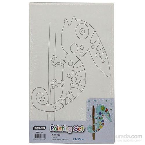 Bigpoint Painting 15X25cm +Fırça+Boya Set