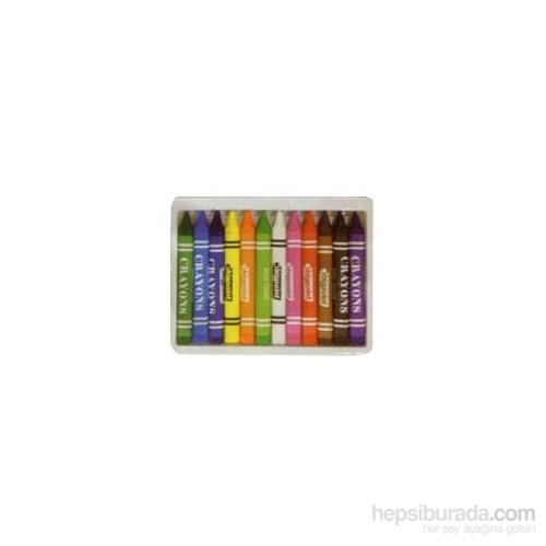 Bigpoint Üçgen Jumbo Mum Boya Crayon