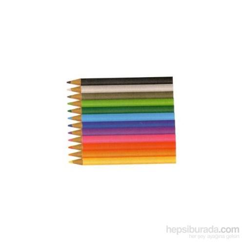 Bigpoint Boya Kalemi Üçgen Jumbo 12 Renk