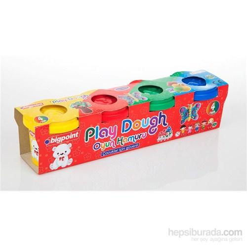 Bigpoint Oyun Hamuru 4'Lü Set