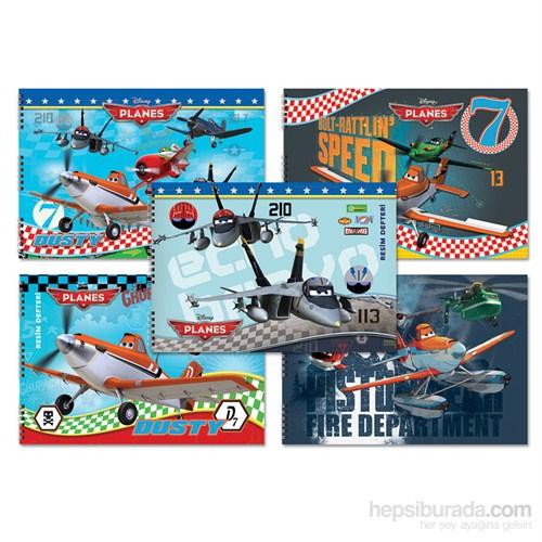 Keskin 300215-48 Planes 25x35 cm Resim Defteri 15 Yaprak