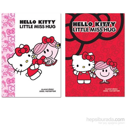 Keskin 280100B Hello Kitty A5 40 Yaprak Güzelyazı Defteri Beyaz Kapak