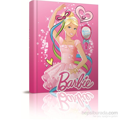 Gıpta 5508 Barbie Sert Kapak Hatıra Defteri 14x20 cm 80 Yaprak