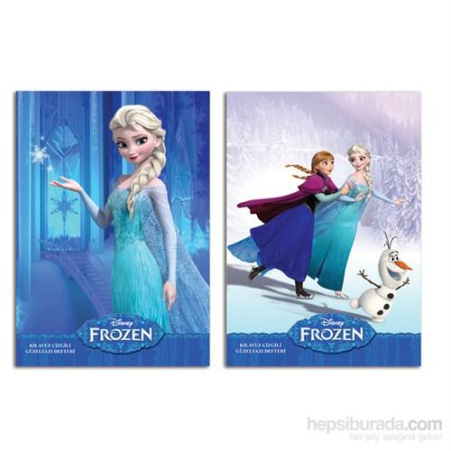 Keskin 280200-71 Frozen A4 Güzel Yazı Defteri 40 Yaprak