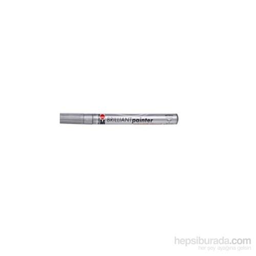 Marabu Brilliant Painter Gümüş Calligrafi Marker (12135082)