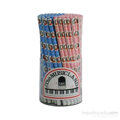 Mozart Kurşun Kalem - Mavi