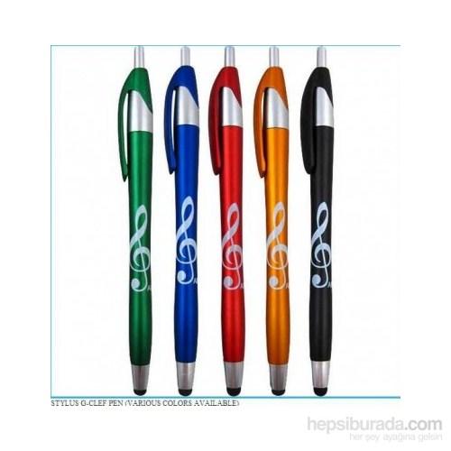 Sol Anahtarlı Tükenmez Kalem - Yeşil