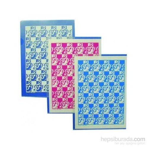 Sol Anahtarlı Dosya - Mavi