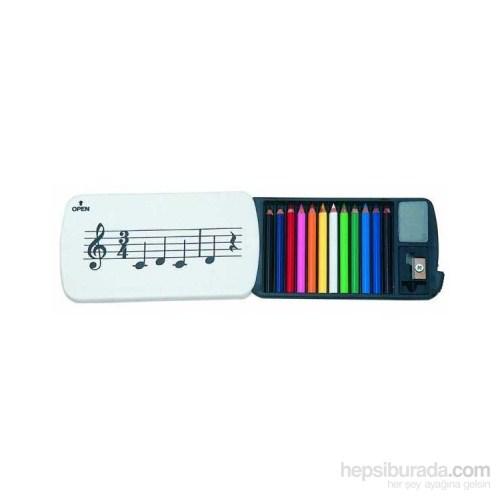 Notalı Mini Renkli Boya Kalemleri