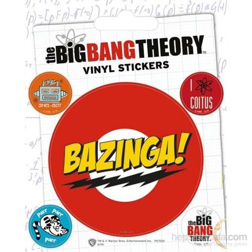 The Big Bang Theory Bazinga Etiket