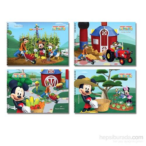 Keskin 300215-01 Mickey 25x35 cm Resim Defteri 15 Yaprak