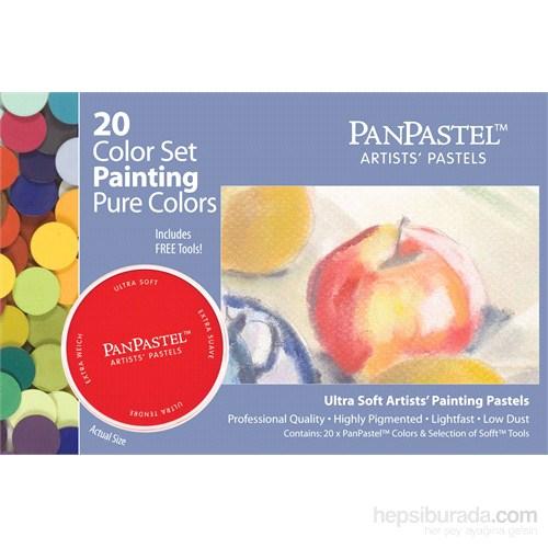 Panpastel Set - 20 Colors Painting - 30201