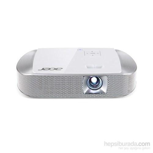 Acer K137i DLP 3D WXGA 700 Ansilümen 100.000/1 HDMI SD/USB USB wifi Projeksiyon Cihazı