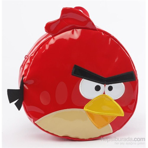 Angry Birds 3D Kırmızı Rugan Sırt Çantası 47748