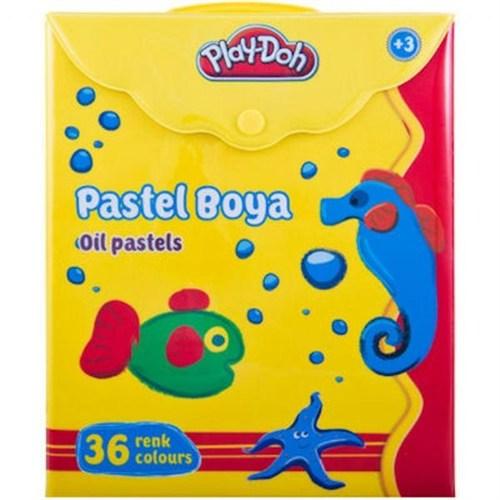 Play-Doh 36 Renk Pastel Boya Çantalı
