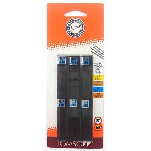 Tombow Min 0.7mm HB 6'lı Blister