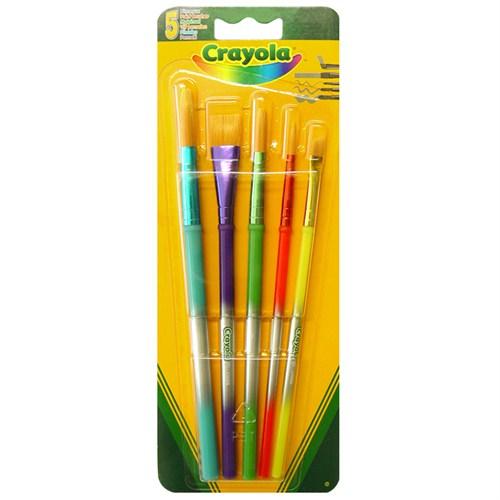 Crayola 5 Boyama Fırçası (3007)