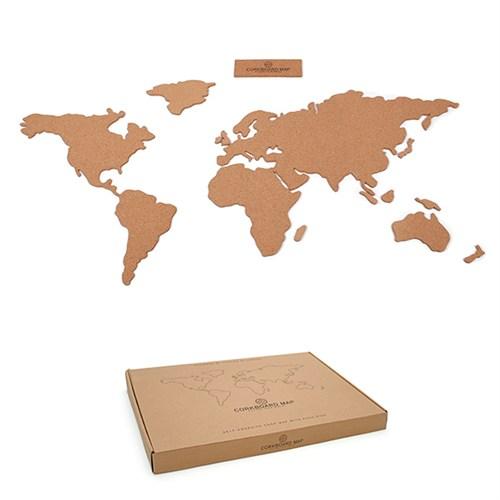 Luckies Corkboard Map