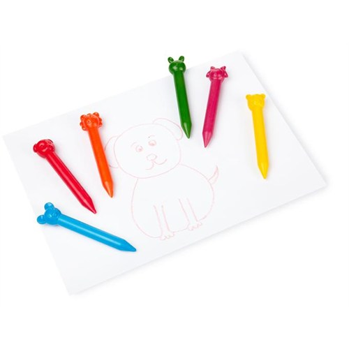Npw Crayon Pastel Boya Seti - Anımal Crayons 6