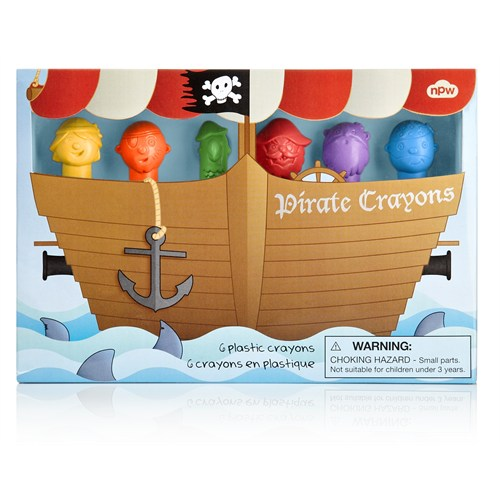 Npw Crayon Pastel Boya Seti - Pırate Crayons