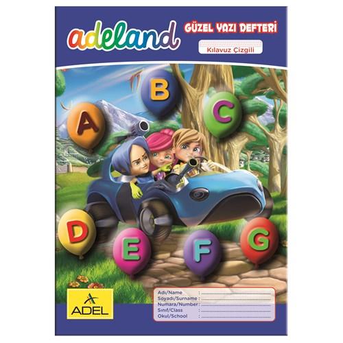 Adeland Güzel Yazı Defteri A4 Kılavuz Çizgili, 30 Yaprak