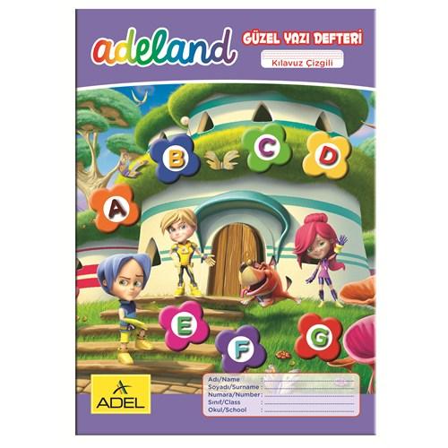 Adeland Güzel Yazı Defteri A4 Kılavuz Çizgili, 40 Yaprak