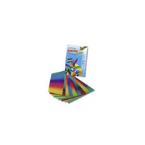 Folia Gökkuşağı Çift Taraflı Elişi Kağıdı (775) 22x32 cm 10 Tabaka, 200 gsm